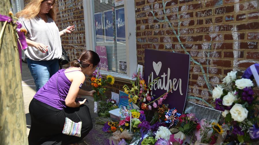 美国夏洛茨维尔纪念暴力事件一周年
