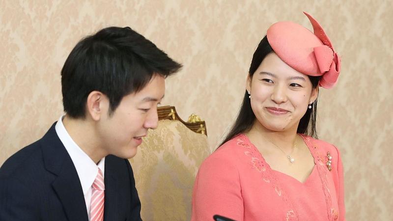 日本绚子公主获平民未婚夫正式提亲 婚后放弃皇籍