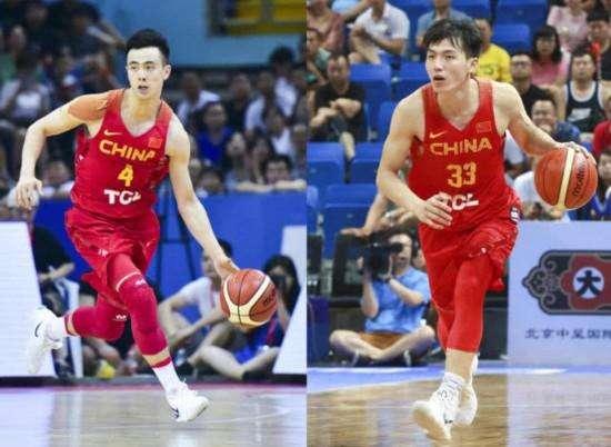 斯杯中国男篮名单公布 周琦、周鹏领衔红蓝两队