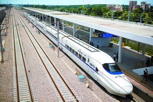 """""""贝碧嘉""""影响减弱 15日下午起江湛铁路部分停运列车恢复开行"""