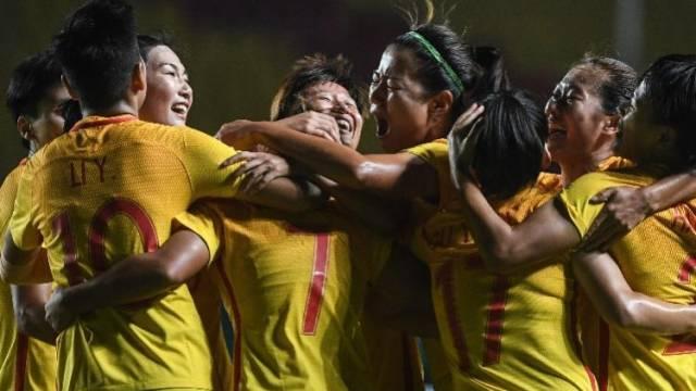 中国女足20年来亚运赛场首胜朝鲜!3战进25球头名出线
