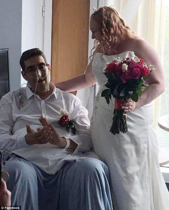 办完婚礼办丧礼 英国男子结婚仅13小时后去世