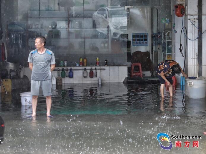 注意!未来三天广东雷雨频繁 有6—8级短时大风
