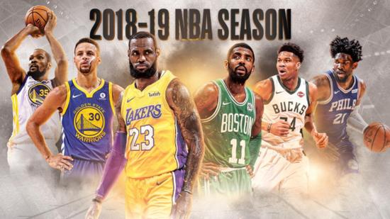 NBA揭幕战10月17日打响 圣诞大战勇士PK湖人