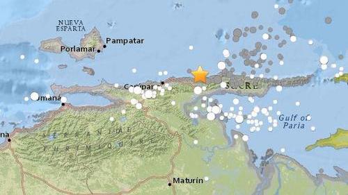 委内瑞拉沿岸近海发生7.3级地震 加勒比海发海啸警报