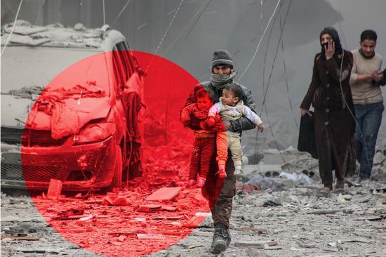 有人为叙利亚平民开发空袭预警app 救了很多人的命