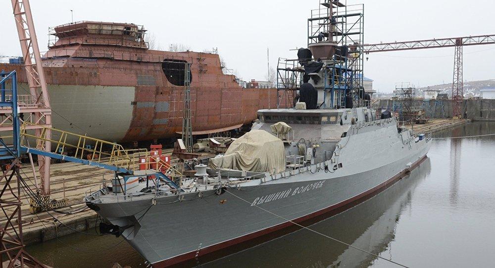 俄将最新型小型导弹舰派往叙沿岸附近分舰队