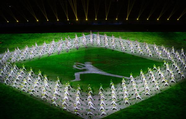 精彩提前看!广东省第十五届运动会开幕式彩排(多靓图)