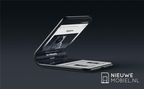 三星Galaxy F可折叠手机概念设计:惊艳!