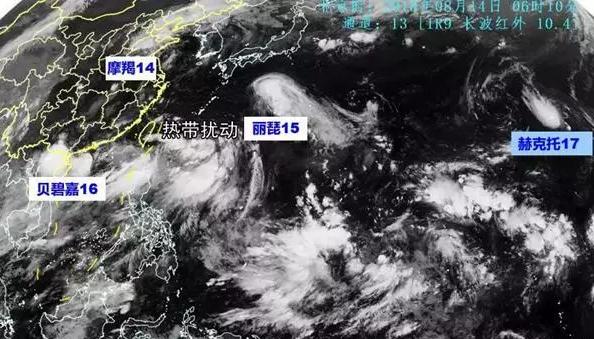 """罕见!4个台风""""扎堆""""!10多个省份强降雨"""