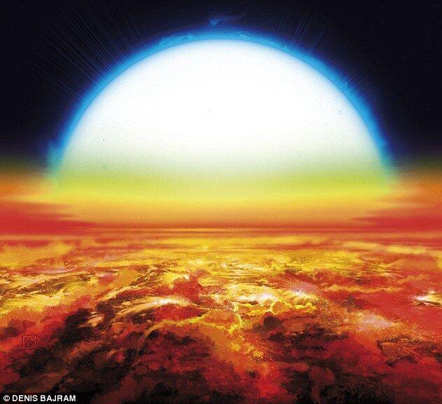 瑞士科学家发现史上最热行星 表面温度达4327℃