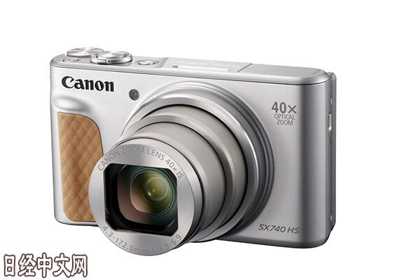 佳能发布新型数码卡片机 支持拍摄4K高清视频