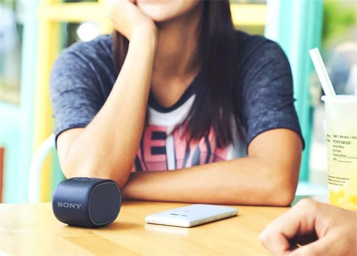 索尼便携无线蓝牙音响开启预售 279元有多色可选