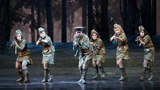 中国原创歌剧《这里的黎明静悄悄》将赴俄演出
