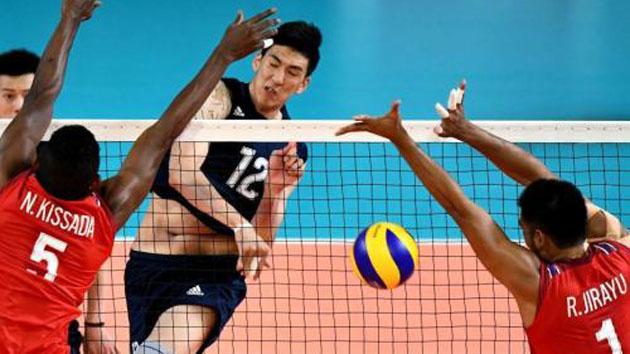 中国男排开启世锦赛征程 年轻球员能否挑起大梁?