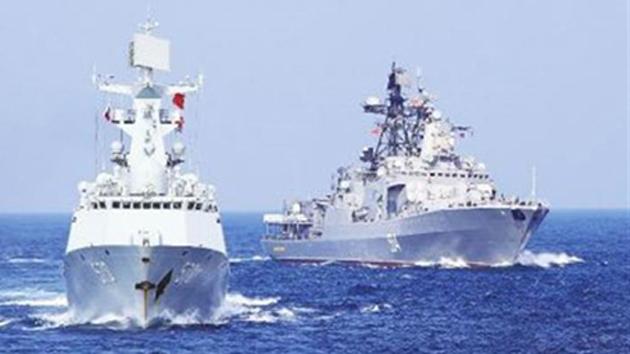 海军黄山舰圆满完成多国海军联演海上阶段演练