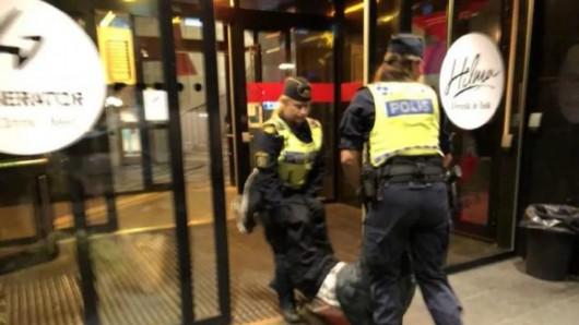 瑞典调查中国游客被粗暴对待事件 受害人一家已回国