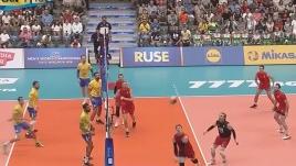 世锦赛-中国男排4连败出局 16强提前揭晓14席位