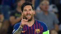 梅西欧冠第八次戴帽,巴萨四球大胜埃因霍温