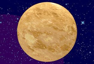 年度最亮金星21日闪亮夜空