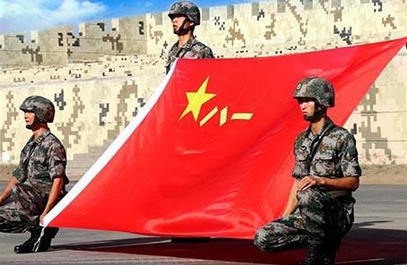 中國第22批赴剛果(金)維和部隊出征