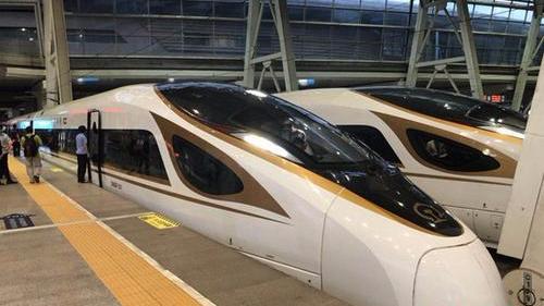 復興號時速350公里運營一周年 發送旅客1157.2萬人次