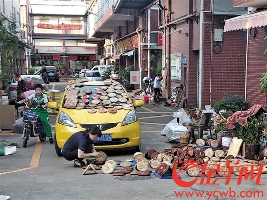芳村茶叶市场清理工作接近尾声 部分店铺恢复营业