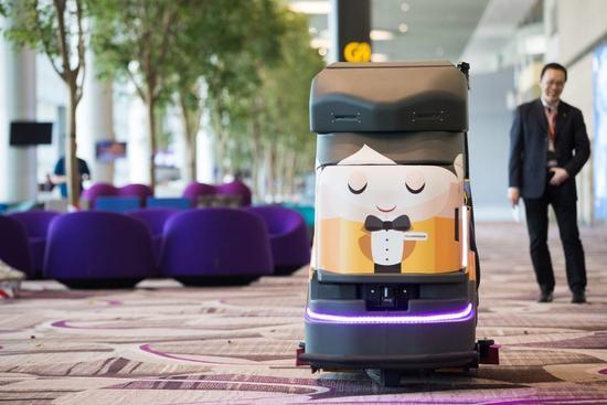 揭秘新加坡的未来机场:不需要任何人类工作者