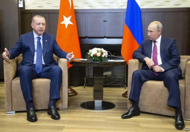 俄罗斯与土耳其同意在伊德利卜设非军事缓冲区