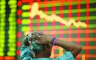 亚太股市跟进美股大跌 台湾加权指数跌逾4%