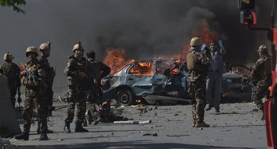 资料图片:阿富汗首都喀布尔屡遭恐怖袭击。
