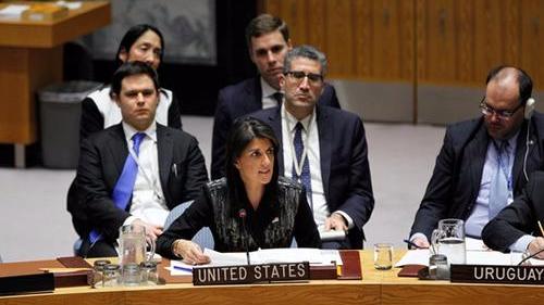 美国常驻联合国代表妮基·黑莉将于今年年底离职