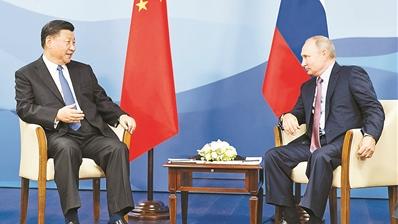 中俄树立大国邻国关系典范