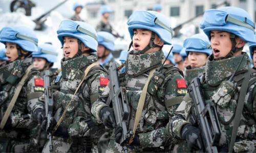 中国军队是维护世界和平的强大正能量