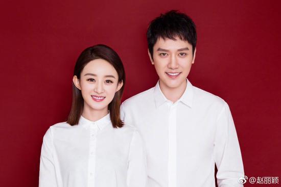 赵丽颖冯绍峰结婚名下共14家公司 女方年收入过亿