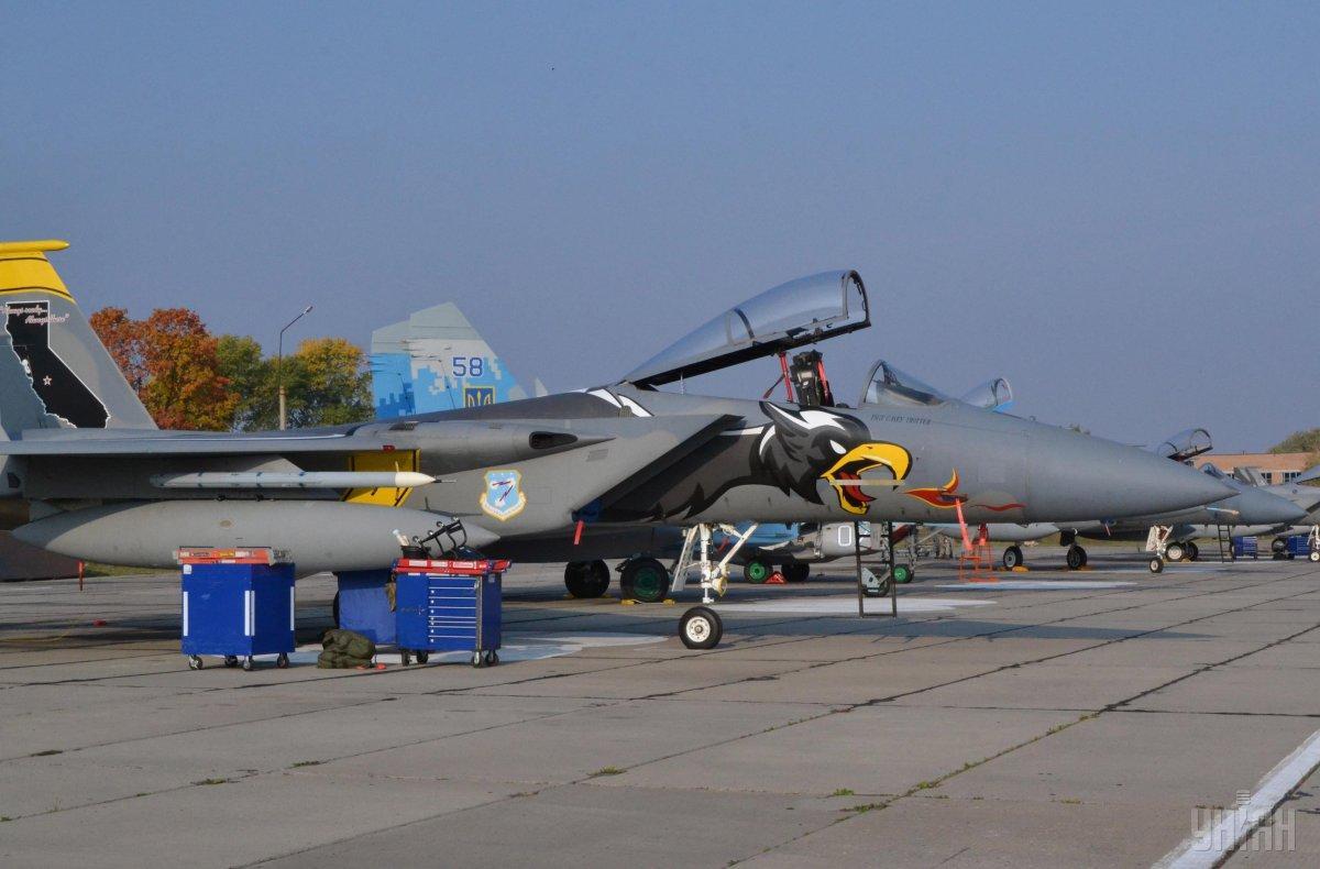 烏克蘭北約展開大規模空中演習 美軍出動F-15C