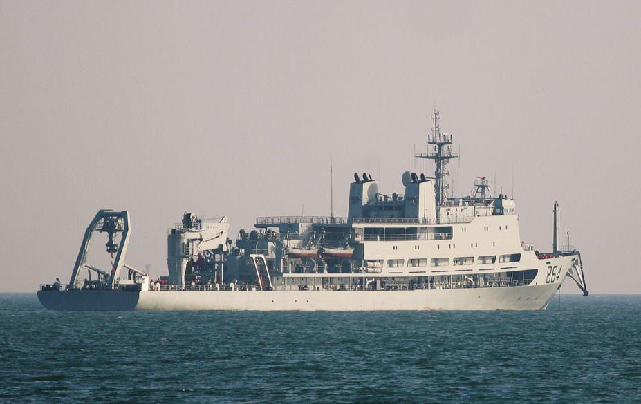 中日军舰前后脚访问斯里兰卡 日本要高调得多