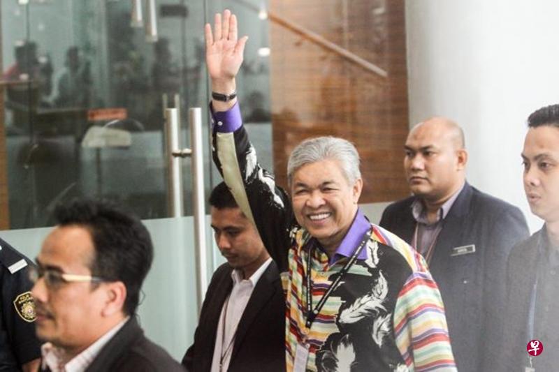 马来西亚前副总理末扎希到反贪会录供 15分钟后被扣留
