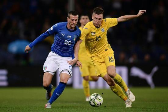 热身-尤文大将破门 意大利1-1乌克兰平不胜纪录