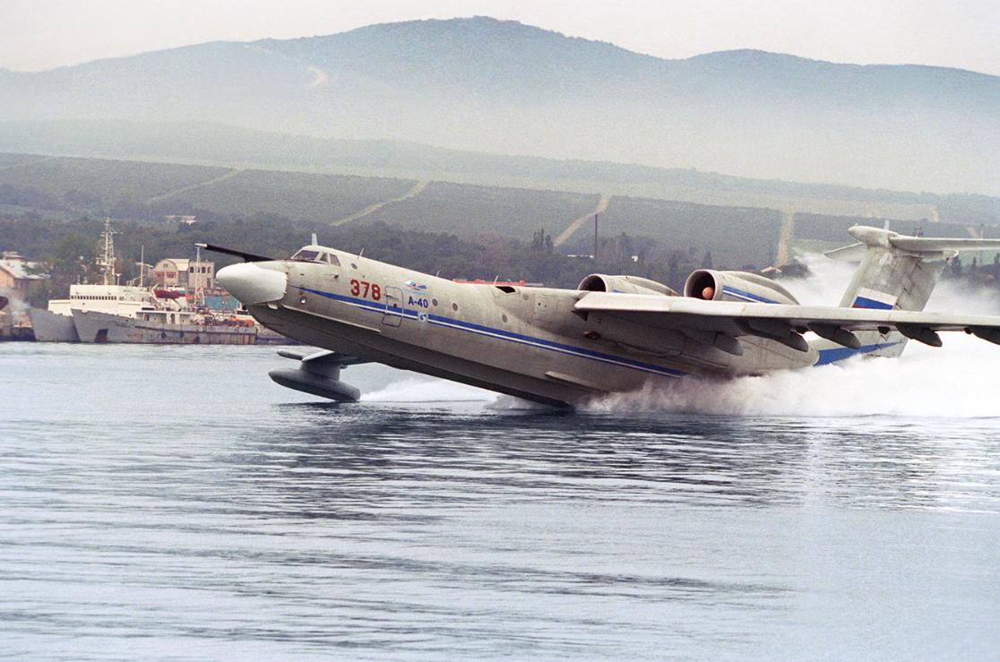 世界最大水上飞机将复活:能携6.5吨重反潜武器