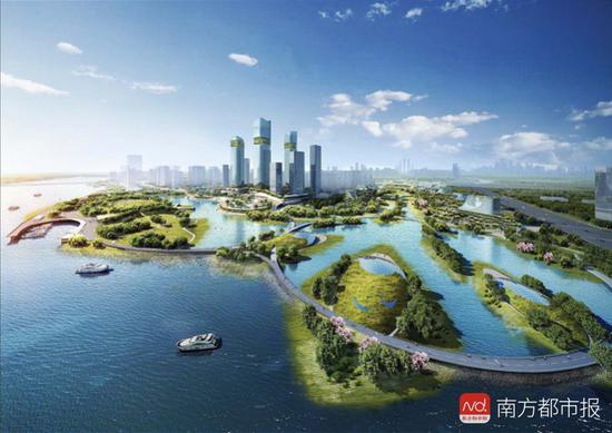 6条过江大桥 滨水岸线20.5公里!广州打造海珠创新湾