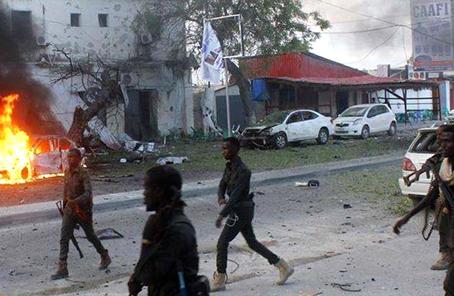 索马里两起爆炸袭击已致22人死亡