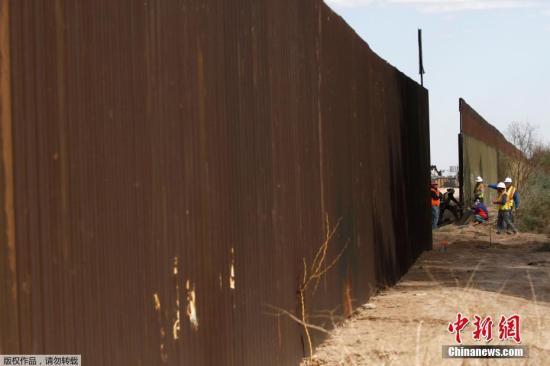 美众院共和党领袖提出为边境墙拨款法案 冀动员选民