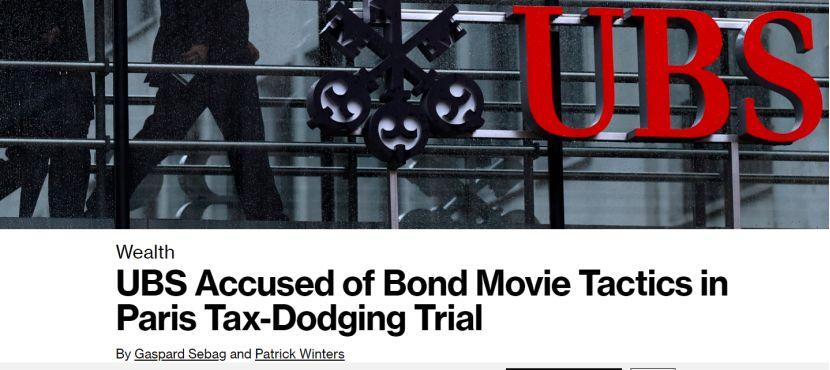 堪比大片!瑞银帮富人偷税784亿 手法如007电影