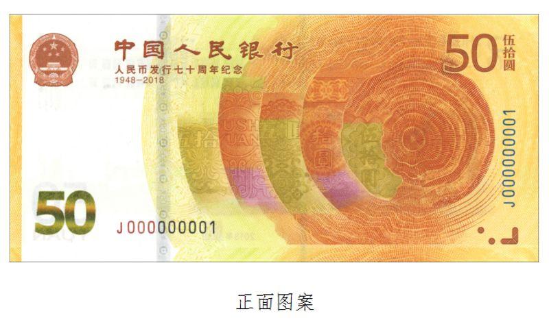 """新50元""""纸币""""来了!一起看看长啥样?"""