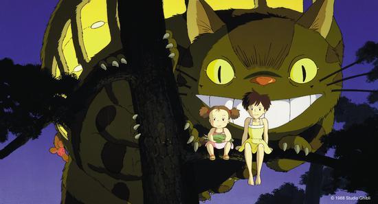 宫崎骏真的来了!电影《龙猫》定档12月14日