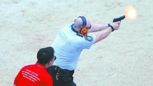 见证警界枪王!世界警察手枪射击比赛在广东开幕
