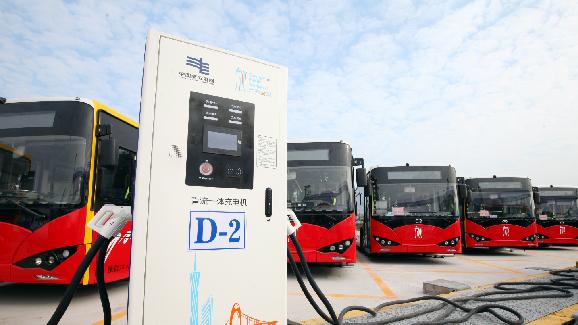 节能环保!番禺规模最大充电站正式运营