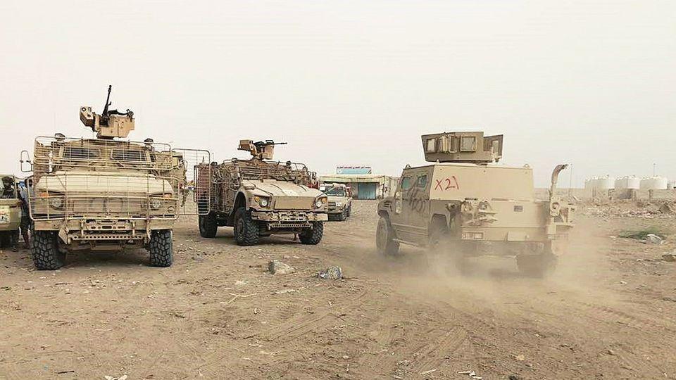 也门政府军暂停进攻荷台达