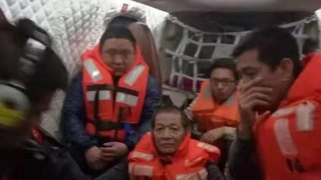 一货船在粤东海域沉没,11名遇险船员全部获救